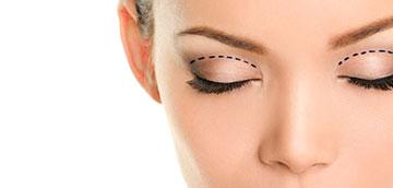 Schönheitschirurgie für Augenlidkorrektur